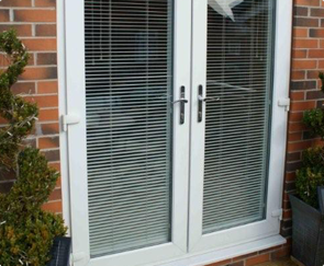Double glazing French doors