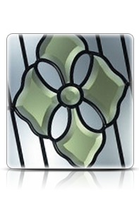 Range of double glazed glass designs