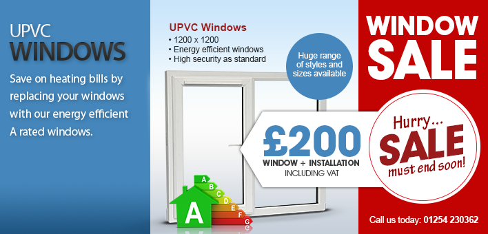 Double glazing windows installation