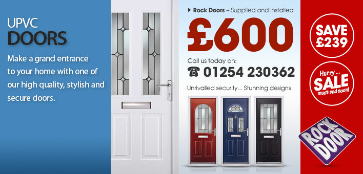 PVC Doors, Rock Door offers